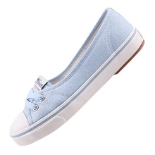 Buy TEXU Hot Sale Spring and Summer Women Flats Canvas Shoes Womens Casual Shoes Brand Slip on Breathable for $11.04 in AliExpress store