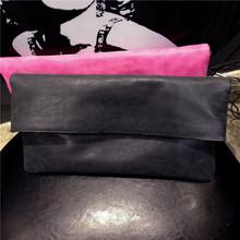 Nubuck leather Envelope tote Women's Handbags 2015 Fashion Messenger Tote Woman Shoulder Evening Bag Clutch envelope bag DSF106