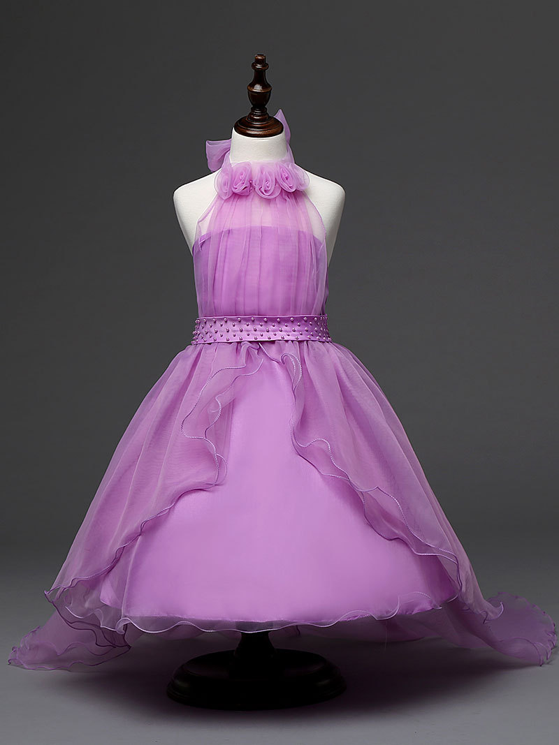children purple wedding dress girl new 2016 pageant dresses for 12 year olds <br><br>Aliexpress