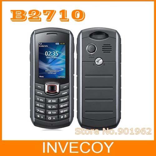 B2710 Original Samsung B2710 waterproof unlocked cell phones 3G bluetooth A-GPS freeshipping(China (Mainland))