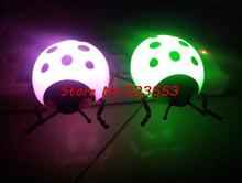 LED night light, light sensor plug-in night light, automatic wall lamps, baby lamps, Coccinella septempunctata(China (Mainland))