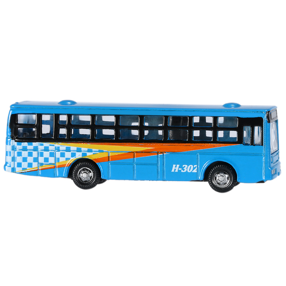 Kids Toys 6 Pieces 1:150 Scale Miniature Damara Model Bus Toy For Children Alloy Bus Model Vehical Landscape Models(China (Mainland))