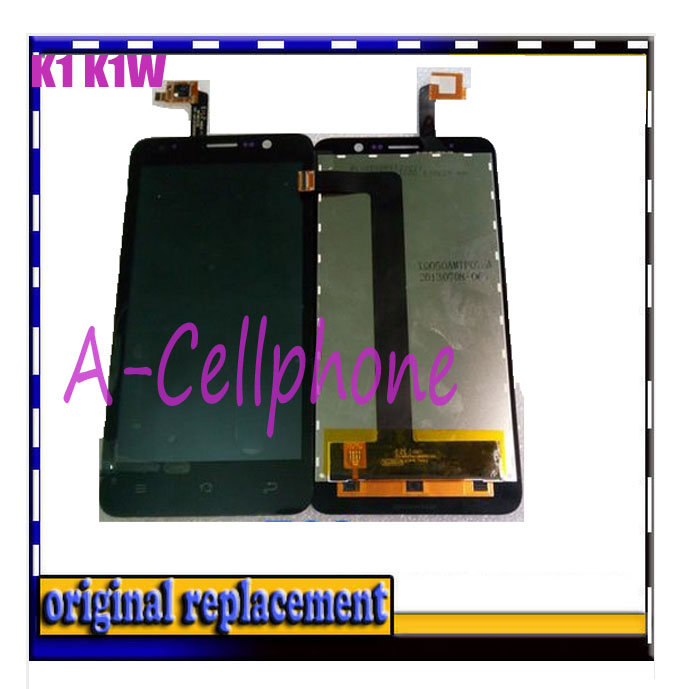 100% Brand New LCD Display for Newman K1 K1W LCD Screen Touch Digitizer Replacement parts black color in stock +perfect package(China (Mainland))