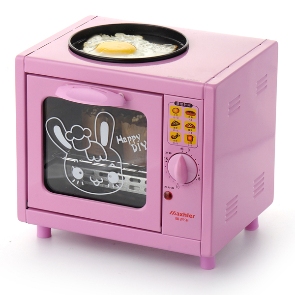 Free Shipping Hot Sale Mini Electric Breakfast Maker Oven multi-function bake box Fried eggs baking Pizzah HA012(China (Mainland))