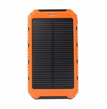 Banco do Poder Carregador de Bateria Powerbank para Todo o Telefone Doshin Banco Energia Solar 10000 MAH Dual USB Portátil Painéis Solares Externa