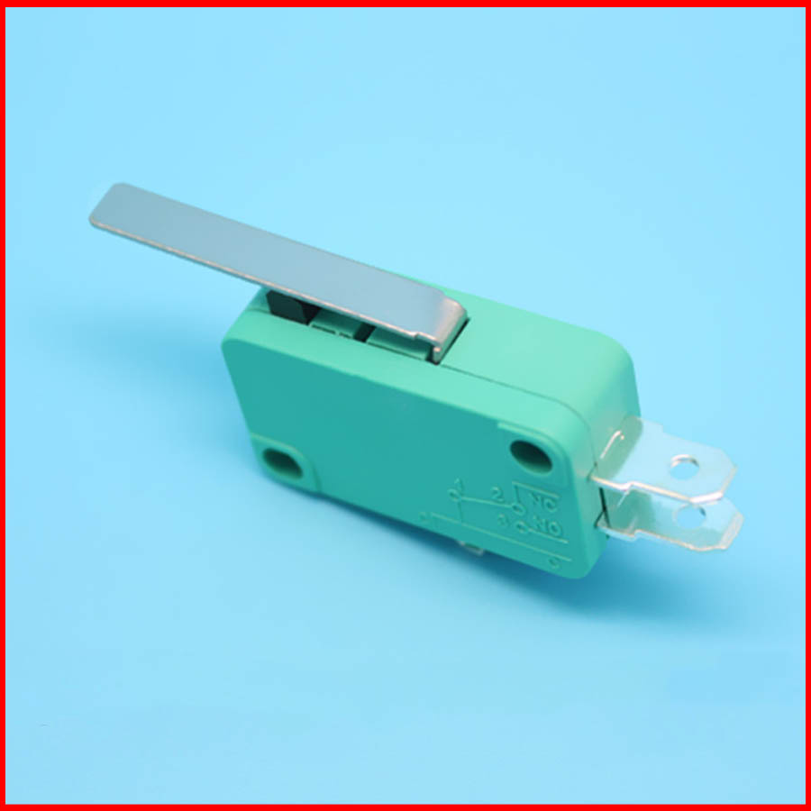 10pcs/ZW7-1 KW7-1 belt pressure iron handle trip limit point move micro switch One on one off(China (Mainland))