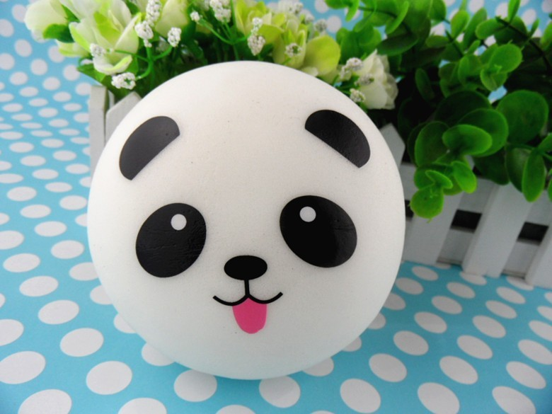 Squishy Jumbo Panda 10 Cm : 2017 /!10cm Panda Squishy Jumbo Buns Kawaii Slow Rising Squishies Wholsale From Ameliahu,   USD80.41 ...