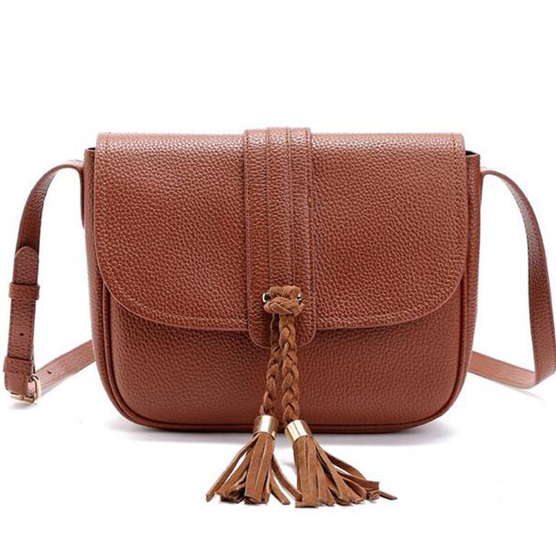 women messenge bag tassle bag bolsa feminina PU leather bag women bags handbags cross body shoulder bag sac a main<br><br>Aliexpress