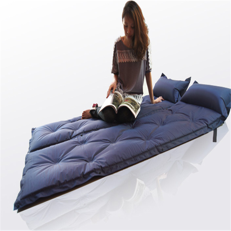 Automatic inflatable cushion outdoor moisture-proof pad sleeping pad tent mat patchwork cushion inflatable(TWO SEAT)(China (Mainland))
