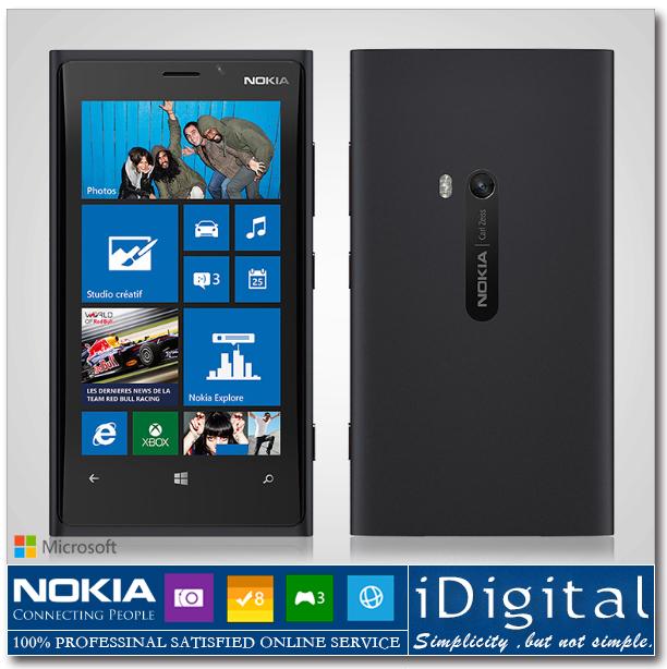 Original Nokia Lumia 920 Unlocked 4.5''IPS Win 8 OS 32GB Dual-Core 1.5GHz 8.7MP NFC GPS WIFI 3G SmartPhone Refurbished(China (Mainland))