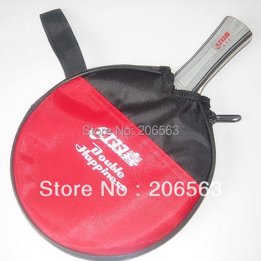 1 DHS Ping Pong Table Tennis Racket Paddle Bat Red Waterproof Protective Bag - zhenshuo yu's store