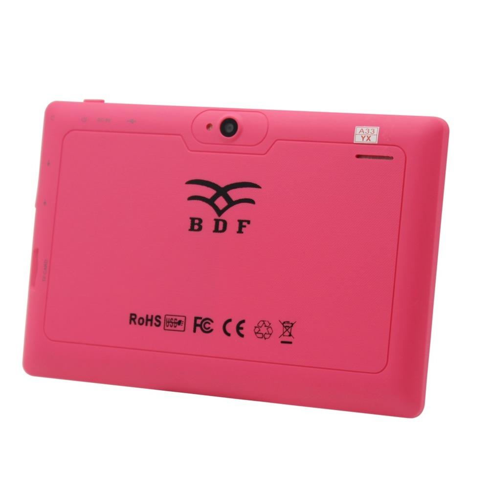 Здесь можно купить  7  inch Tablet PC A33 Android 4.4 Quad Core Dual Camera 1.2Ghz  WiFi Bluetooth WiFi Tablet PC 512MB 4GB  3G External  Компьютер & сеть