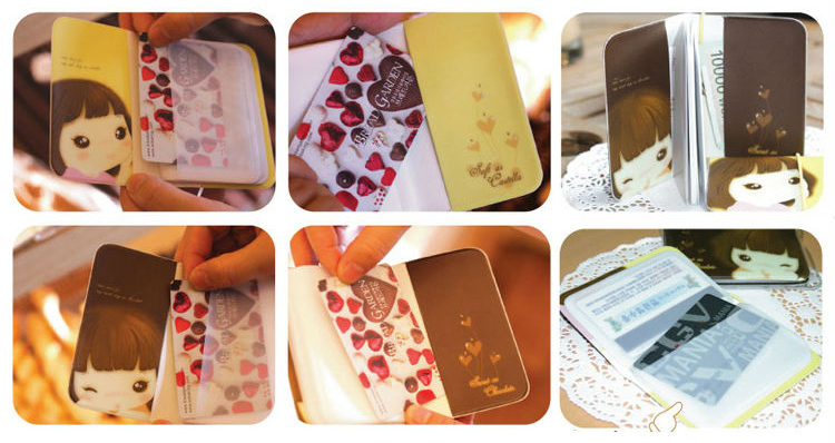 Valentine's day gift department store gift wholesale company activities and practical creative gadgets card bag men and women(China (Mainland))