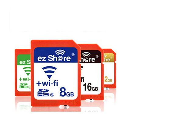 New Arrival Original EZ Share Micro SD Card Adpater Wifi wireless 8G 16G 32G Memory Card CF Card Micro SD Card Reader(China (Mainland))