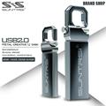 Suntrsi New Metallic Key USB Flash Drive 64GB 32GB Pen drive 16GB 8GB USB 2.zero Waterproof USB Stick Memory Stick Free Transport Presents