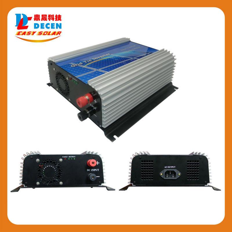 DECEN@ 22-60Vdc 500W Solar Grid Tie Pure Sine Wave Inverter Output 90-160Vac,50Hz/60Hz, For Home Solar Energy System(China (Mainland))