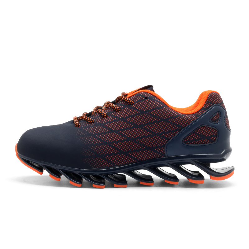 GOMNEAR Spring Men's 2017 Running Shoes Outdoor Antiskid Jogging Tourism Walking Athletic Shoes Unique Trend Sports Shoes