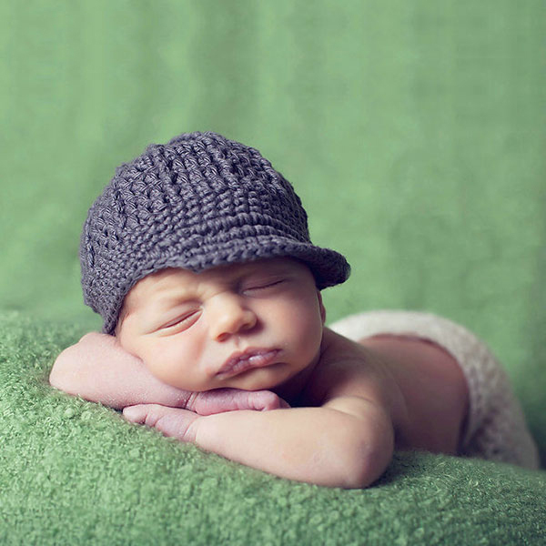 cool boy beanie handmade crochet baby hats for