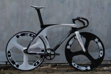 Bicycle visp killing whale Fixed gear carbon fiber bike (frame+wheelset+seatpost)fixie bike carbon fiber track bike fixie(China (Mainland))