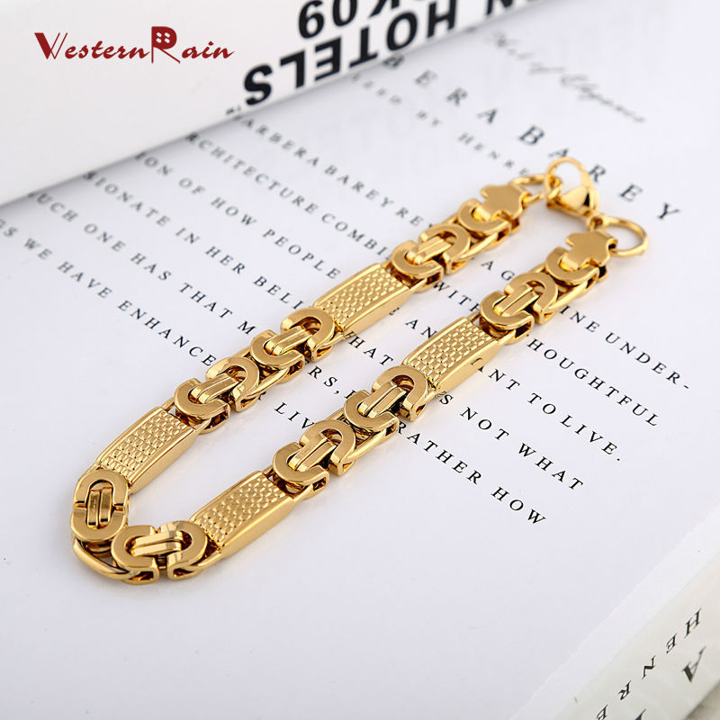 2018 Westernrain New Arrival Top Quality Dubai Gold Jewelry Men\'S ...