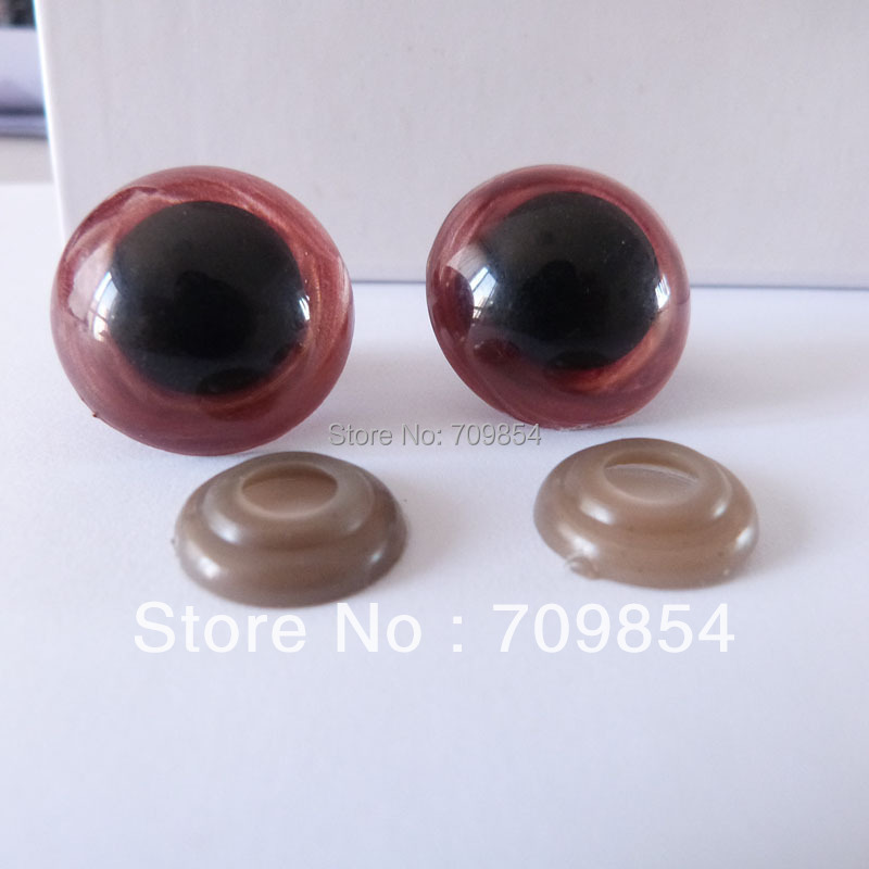 free shipping!!! 100pcs/lot 24mm Non-toxic safety eyes bear eyes with washer top quality  QA12<br><br>Aliexpress