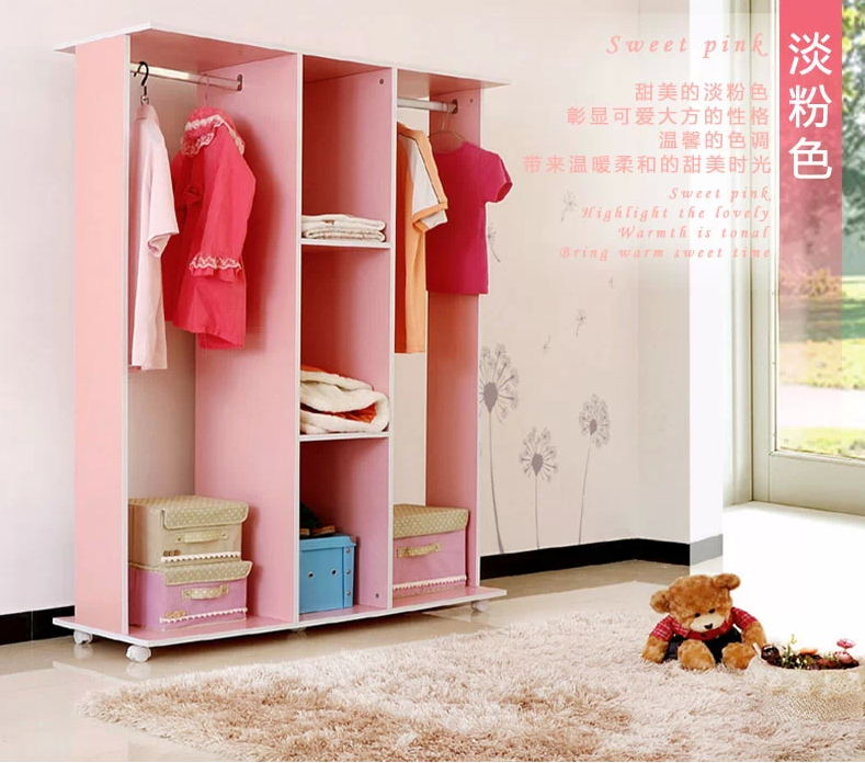 simple modern style wardrobe simple korean ikea wardrobe. Black Bedroom Furniture Sets. Home Design Ideas