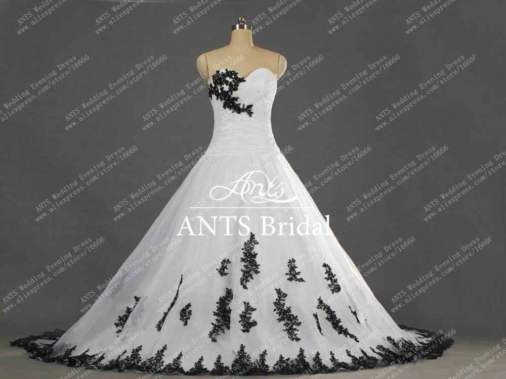 Black Wedding Dress Custom : Aliexpress buy w real photo formal custom