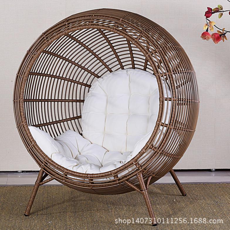 Yohere мебель плетеная патио в саду солнца кресло ротанг отд.