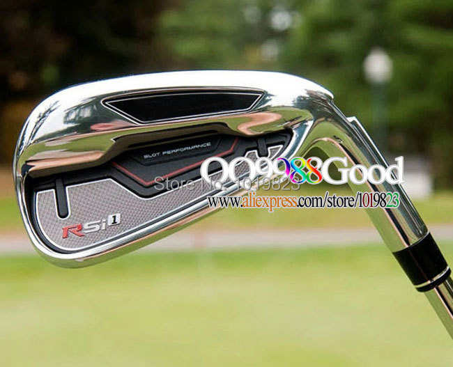 2015 New HOT Golf Clubs RSi 1Golf irons set dynamic gold steel shaft R300 Name 56789PS Brand Golf set Free Shipping(China (Mainland))
