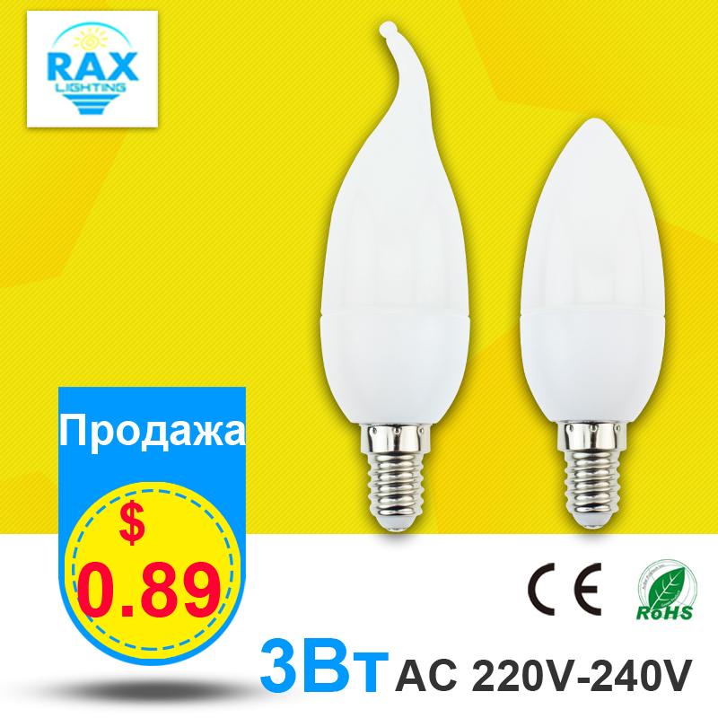 E14 Led Candle Light 3W AC 220V 240V Energy Saving Light Bulb Warm Cold White Led Lamp E14 Decorativas Home Lighting Decoration(China (Mainland))