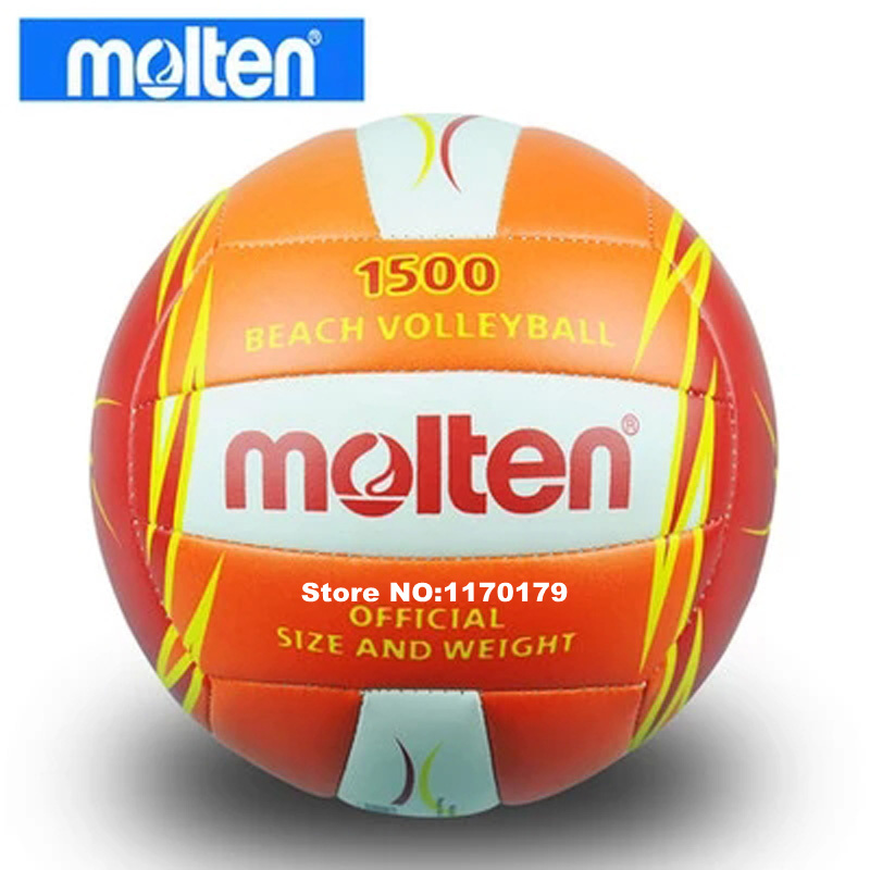 Molten V5B1500-CO PU volleyball beach volleyball ball 5#, free with gas nozzle and needle(China (Mainland))