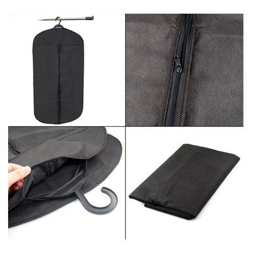 2015 Hot Black Travel Suit Wedding Cover Skirt Dress Garment Coat Shirt Bag Carrier(China (Mainland))