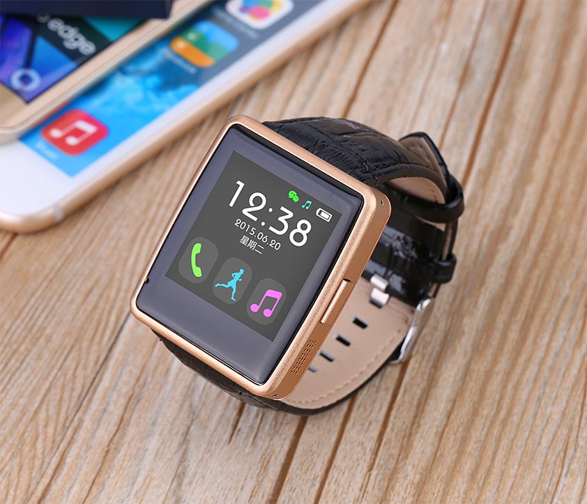 2016 New Fahion Smart Watch Android IOS Smart Wristwatch with IPS full-view Touch Screen pedometer,sleep monitor Music Player<br><br>Aliexpress
