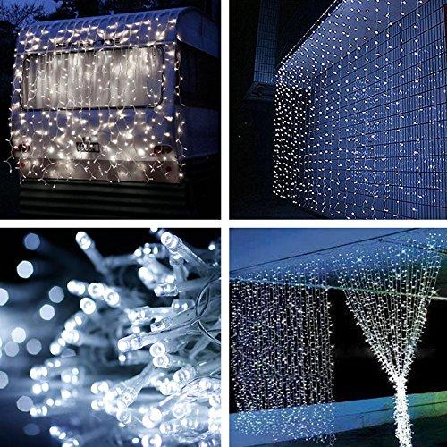 YG 3*1M 160LED christmas outdoor decoration curtain icicle string led lights 220V Garden Xmas Wedding Party free shipping(China (Mainland))