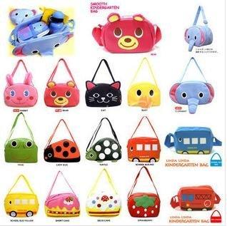 LINDA LINDA BAG Children Aslant bags Kindergarden bag Kids Cartoon satchel KIDS haversack