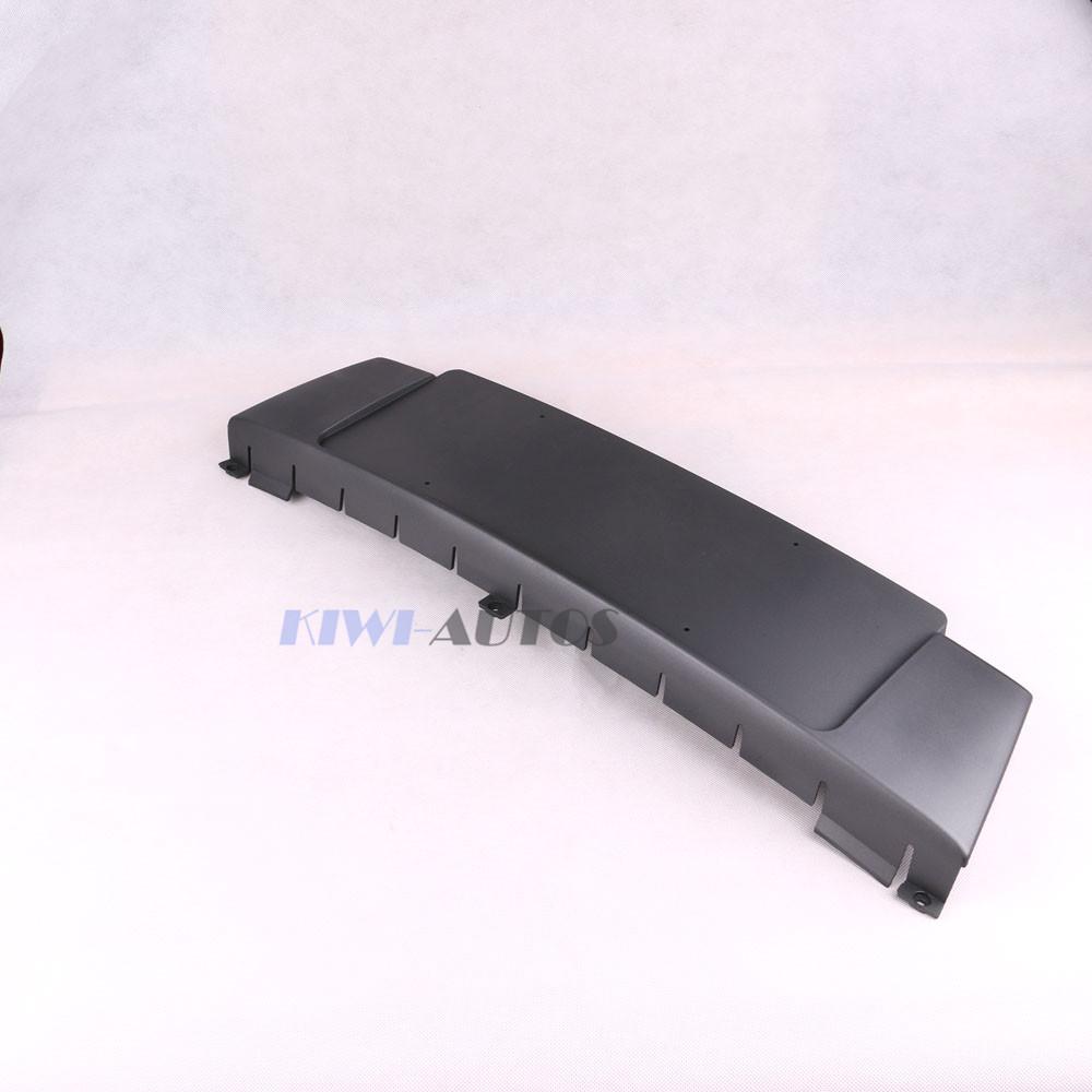 OEM Black Licence Plate Holder Bracket 8E0807285K A4 AVANT 2005-2008 8E0 807 285 K 285K 8E0807285L L - KiWi Technology & Trading Limited store