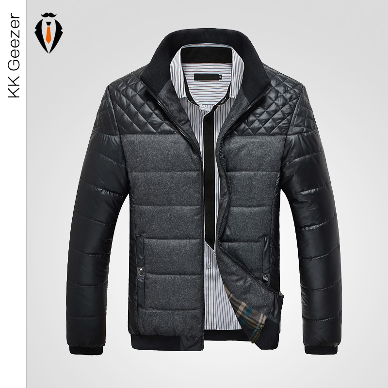High Quality Slim Fit Fashion Warm Parka Cotton Outdoors Down Jacket Famous Brand Winter Men polos Outdoor Hombre Invierno