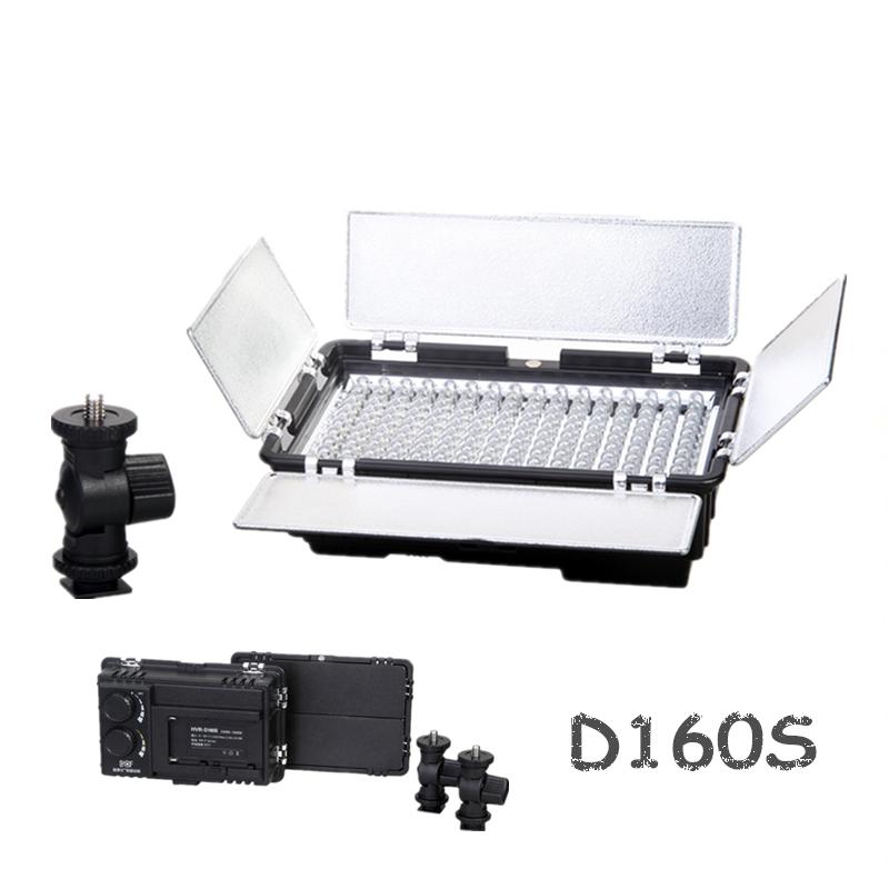 160 LED Camera Video Light Camcorder DV Lighting 5600K/3200K Cameras photos - Fuzhou Microfilm Solution Co.,ltd store