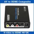 Composite AV RCA S Video to HDMI Converter UHD 4K Upscaler Adapter for HDTV
