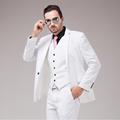 Fashion Brand Men Suit 2015 New Arrivals Classic Pure Color Plus Size Business Men Blazer Vest