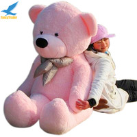Fancytrader 63'' Pink Color Giant Plush Stuffed Teddy Bear 160cm Free Shipping 4 Colors Available FT90059