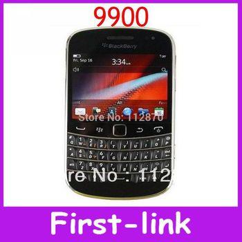 Первоначально открынный ежевики жирный сенсорный 9900 сотовых телефонов 8 ГБ хранения QWERTY 2.8 дюймов WiFi GPS 5.0 Мп камеры