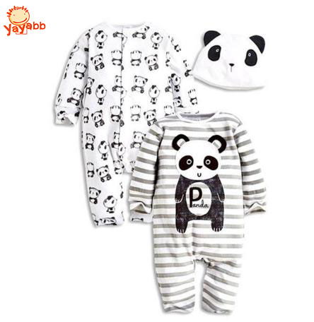 Baby Clothing Set Infant Baby Suit Baby Boy And Baby Girl High Quality 3 Pcs/Set (2Rompers+Hat) Autumn Winter<br><br>Aliexpress