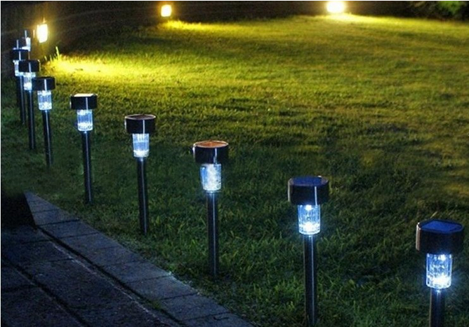 Garden decoration courtyard lights Solar LED light  solar charging solar panel solar lamp Wholesale Free shipping  A pack of ten<br><br>Aliexpress