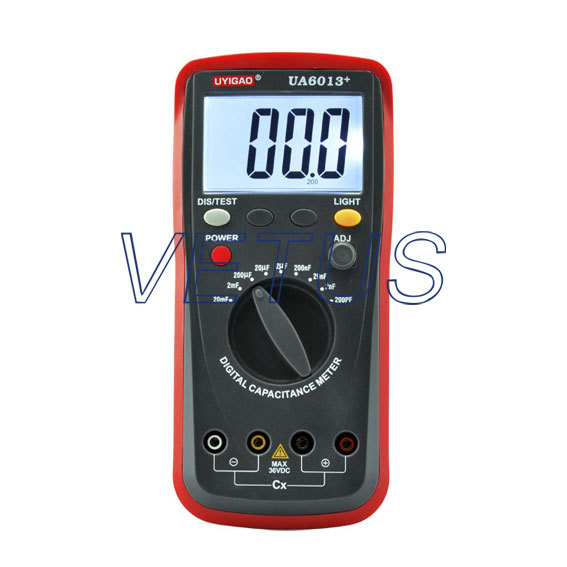 Free shipping UYIGAO UA6013+ UA-6013+ LCD Digital Capacitance Tester Meter<br><br>Aliexpress