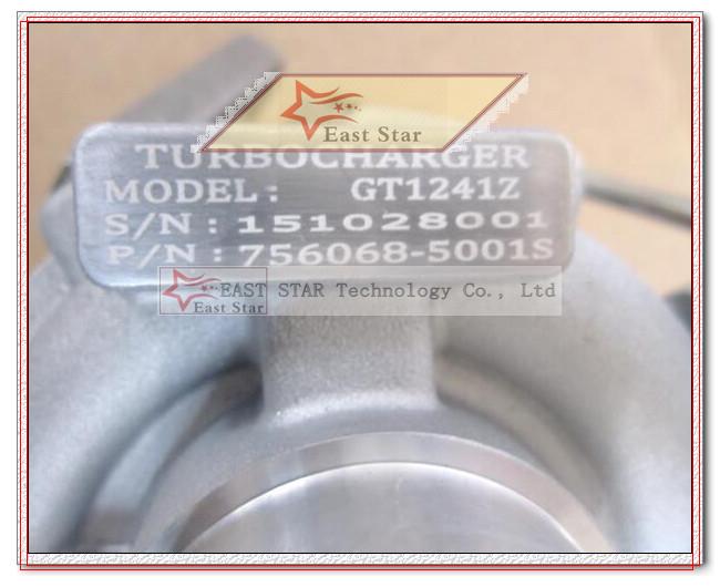 GT1241Z 756068-5001S 708001-0001 756068-0001 036145701 Turbo Turbocharger For VW Parati EA111 1.0L 16V 2001 motorcycle 0.4L-1.2L (7)