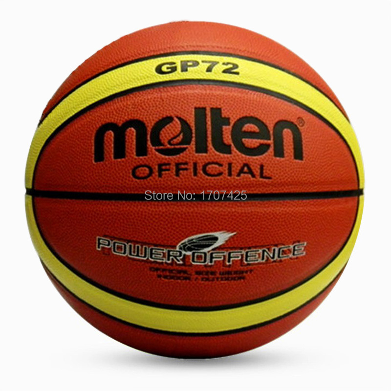 2015 New Brand PU basketball games balls offcial size and weight molten basketballs GP72 indoor or outdoor balls Free Shipping(China (Mainland))