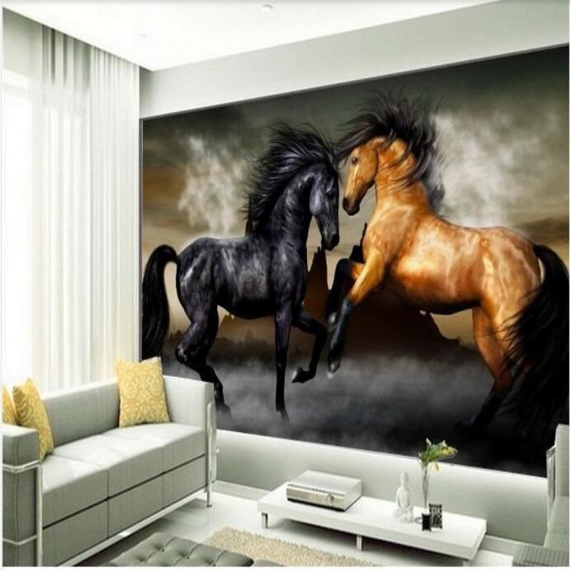 Online get cheap horse wall murals for Equestrian wall mural