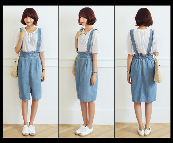 skirts womens Picture - More Detailed Picture about Fashion Washed ...