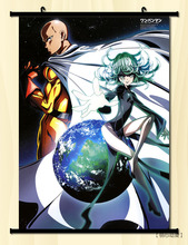 (60x85cm)one punch man Anime Canvas Wall Art Picture Home Decor Room Canvas Print Painting Cartoon Canvas Art